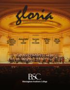Gloria, BSC's visual & performing arts magazine