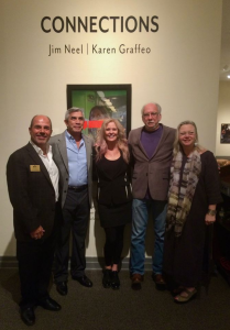 with Julio Angel Larramendi, Karen Graffeo, Jim Neel and Lynn Bethard Neel in Huntsville, Alabama.